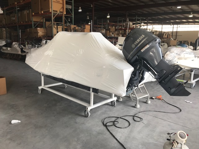 After Boat Wrapping